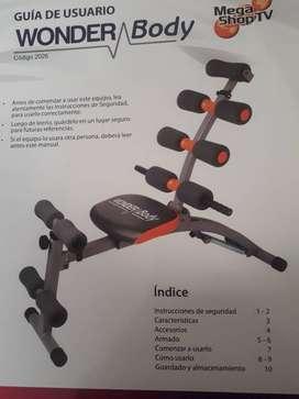 Maquina ejercicio abdominal
