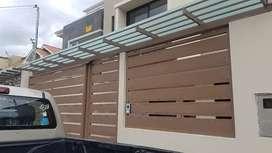 Hermosa casa x estrenar en venta, acabados de 1era, amplia, comoda y segura ubicada en totoracocha inf 0984 - 912 - 325