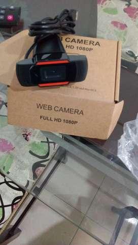 Se vende  camera web 1080p nueva