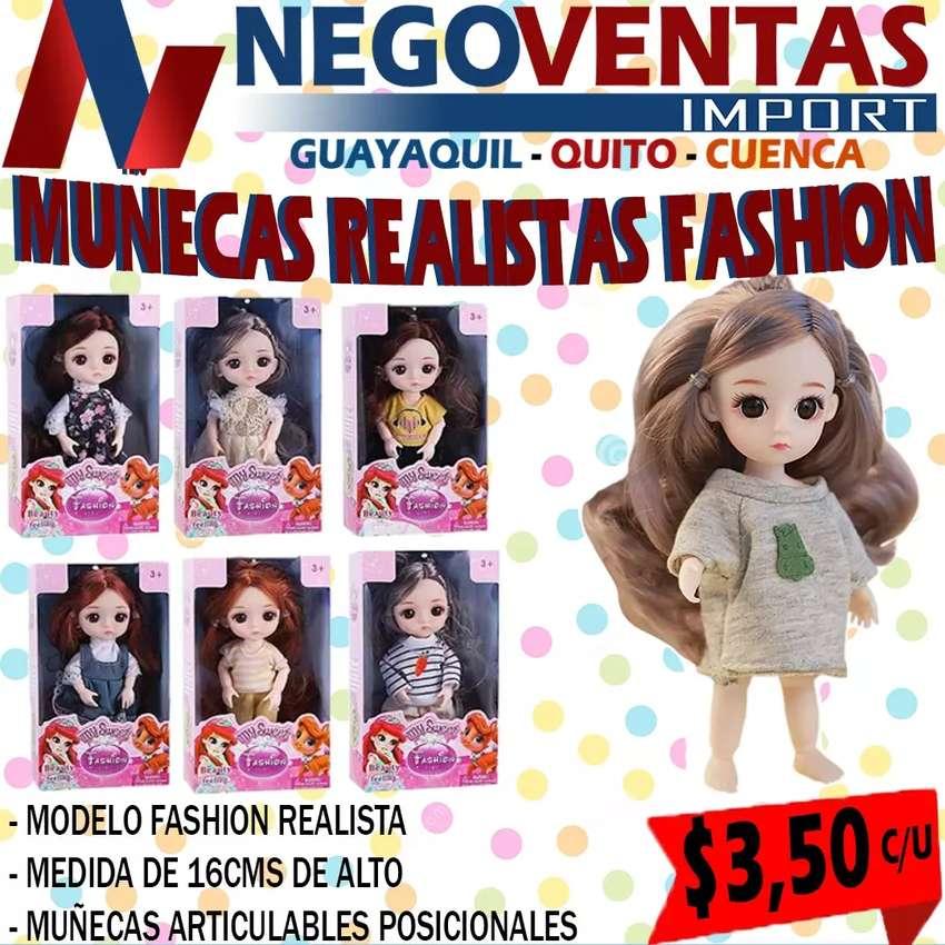 MUÑECA REALISTA FASHION 0