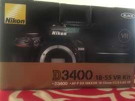 Camara Nikon Reflex digital D3400