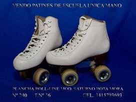 Vendo patines de escuela usados exelente estado.