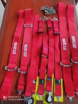 Cinturones aparco deportivos