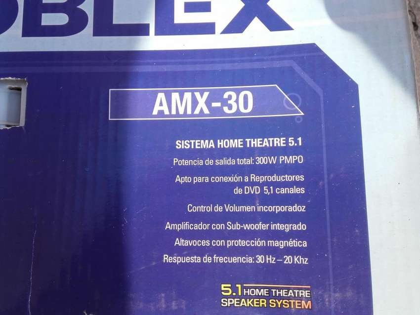 Home theatre noblex amx30 0