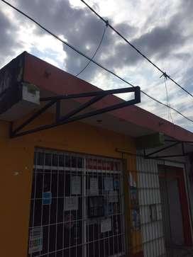 Tinglados, techos