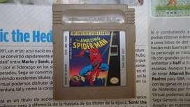 the amazing spiderman. game boy