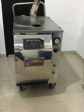 Espectacualr Maquina de Lavado a Vapor