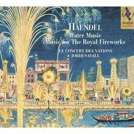 G.F. HAENDEL: Water Music-Music for The Royal Fireworks - Jordi Savall.