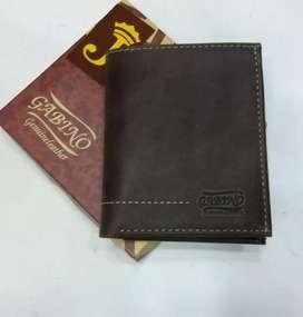 Billetera de cuero para hombre