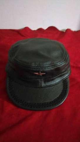 gorras cuero dama y hombre