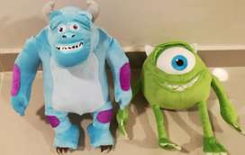 Peluche Monster Inc Sulley y Mike Wazoski