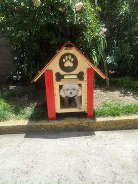 Casa para Perros Roja