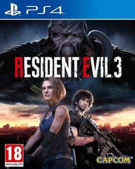 Resident Evil 3 Remake Playstation 4 Ps4, Físico