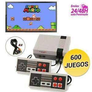 CONSOLA RETRO 600 JUEGOS 0