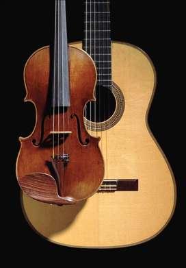 Clases de Canto, Guitarra Criolla y Violín