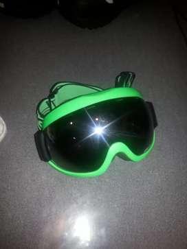 vendo gafas para hacer snowboard