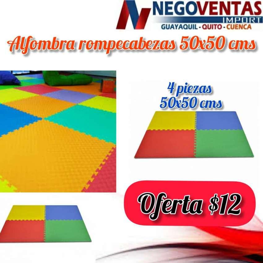 ALFOMBRA ROMPECABEZAS DE 50X50CM