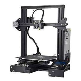 Impresora 3D--Ender-3 ensamblada + 2 filamento