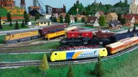 Exhibición, construcción y Venta de Maquetas Ferroviarias