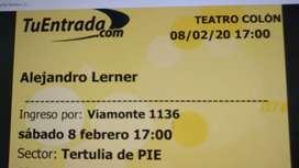 Alejandro Lerner en el teatro Colón