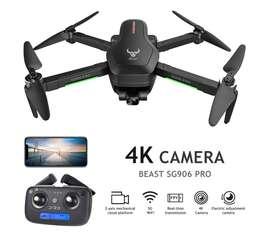 Nuevo Drone SG906 Pro 2 con cámara 4K, Gimbal Anti-shake de tres ejes, GPS Follow
