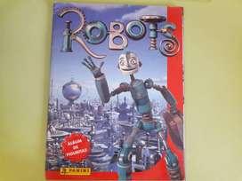 Art 204 Album de Figuritas Robots con 22 Figuritas