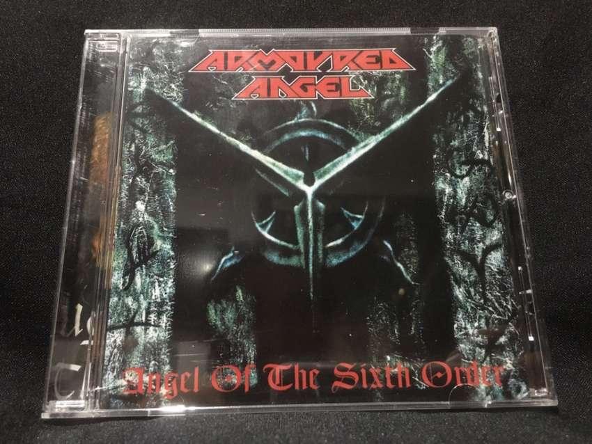 Cd Death Trash Metal Armoured Angel (Aus) - Angel of the Sixth Order