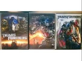 Transformers 1-2-3 Dvds