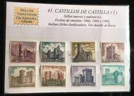 Estampillas de Castilla España
