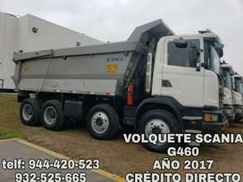 VOLQUETE SCANIA G460 AÑO 2017