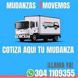 Mudanzas Acarreos Trasteos Flete Camión Furgón Caja