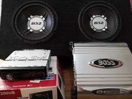 Subwoofer potencia y stereo