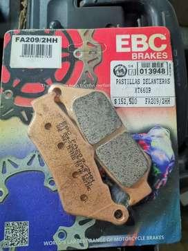 Pastillas xt 660r EBC