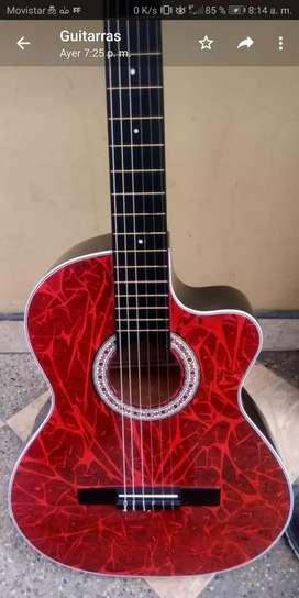 Guitarras acusticas,electroacustica, niño,godin y ukeleles somos fabricantes