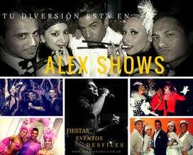 Alex Shows ProducciÓn de Shows Cubanos e Internacionales