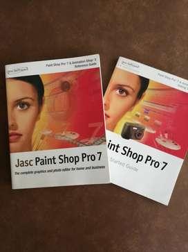 SOFTWARE JASC- PAINT SHOP PRO 7