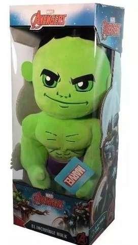 Peluche Marvel Hulk Gigante 50 Cm Avengers Wabro