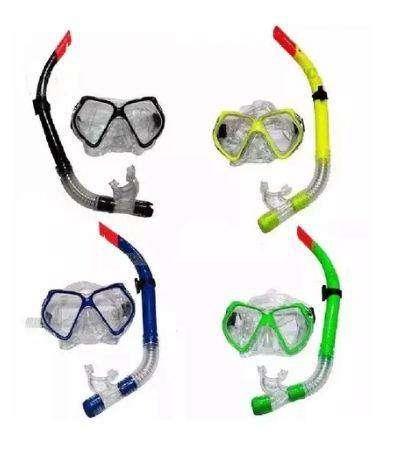 Set Snorkel  Careta Swimmer Buceo Silicona