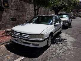 OPORTUNIDAD CLÁSICO PEUGEOT 605 V6 SR 3.0L, MODELO 1995 DIPLOMÁTICO