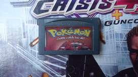 Pokemon rojo game boy advanced