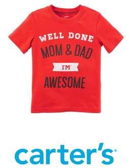 Camiseta Carters Nueva Talla 3T