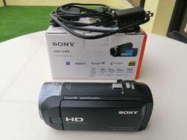 Filmadora Sony HDR-CX405 como nueva. Vendo o cambio.