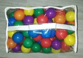 Set De Pelotas De Colores Para Piscina X 200 Unidades - Intex