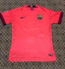 camiseta ronaldinho barcelona fluor 10