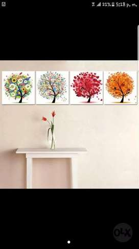 Hermosos cuadros en retablo para tu hogar.