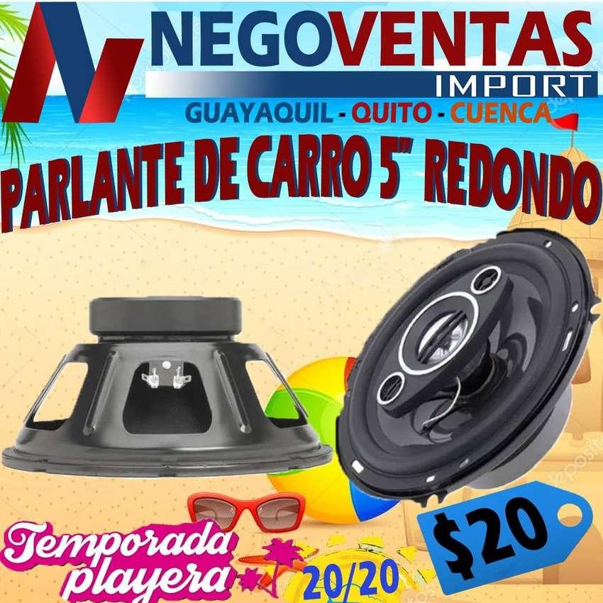 PARLANTE REDONDOS DE 5 PULGADAS PARA CARROS 0