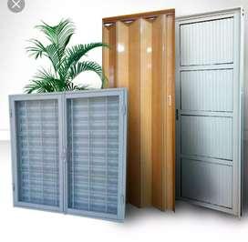 Colocación de aberturas puertas ventanas portones etc