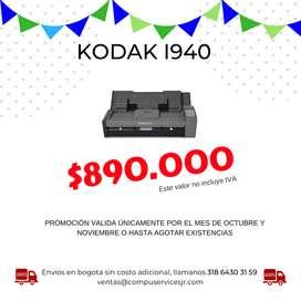 Escaner Kodak I940, Scanner Automatico 20 Ppm, ¡promocion!