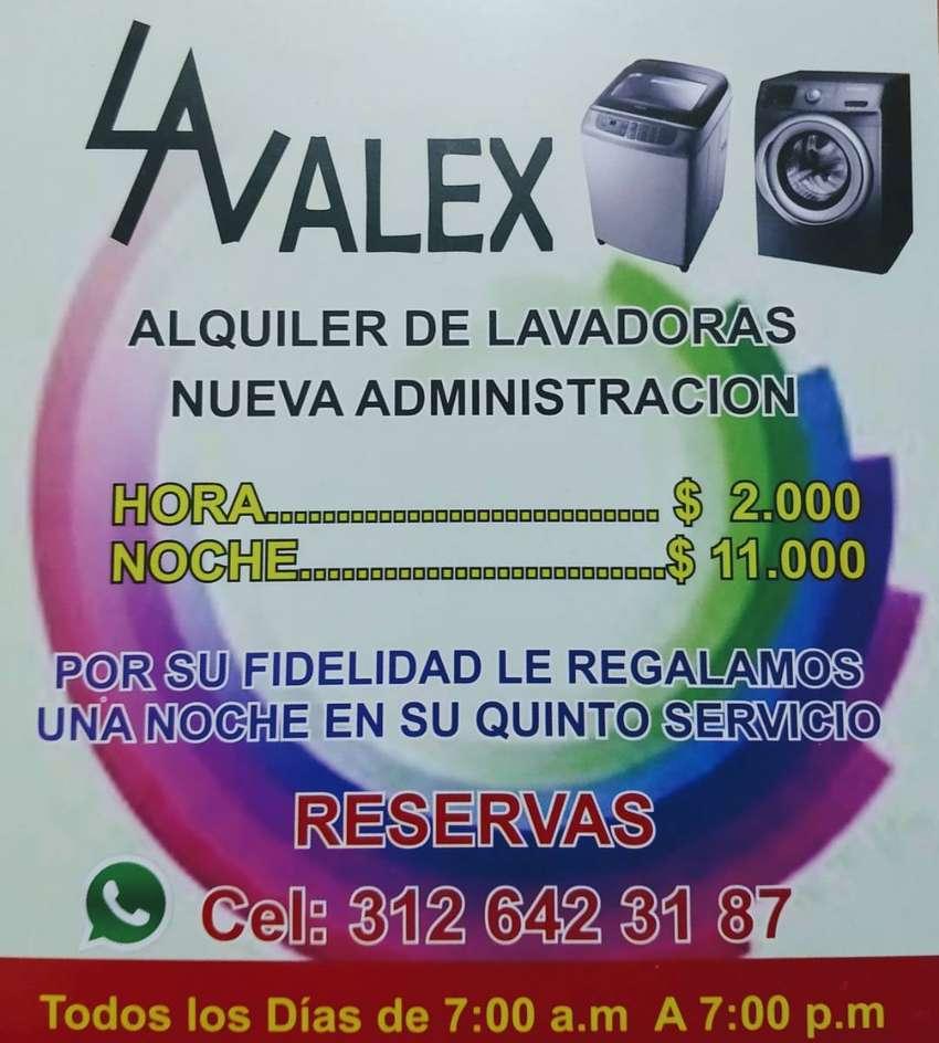 ALQUILER DE LAVADORAS 0