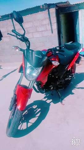 VENDO MOTO CB 125F TWISTER  9/10